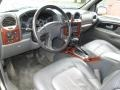Medium Pewter 2002 GMC Envoy Interiors