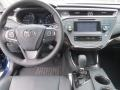Dashboard of 2013 Avalon XLE