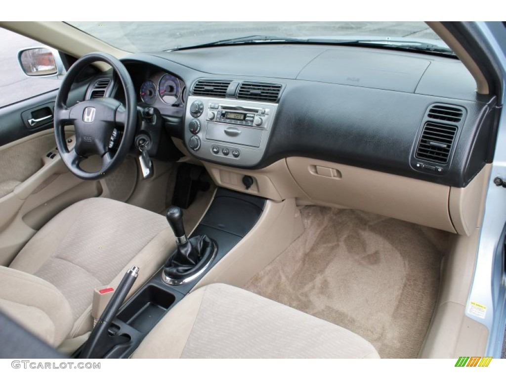 2003 Honda Civic Hybrid Sedan Interior Photo #77805635