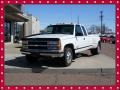 Olympic White 1996 Chevrolet C/K 3500 C3500 Extended Cab Dually