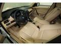 2010 BMW X3 Sand Beige Interior Prime Interior Photo