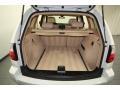 2010 BMW X3 Sand Beige Interior Trunk Photo