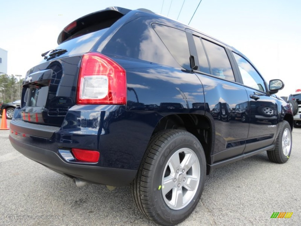 Jeep Compass Paint True Blue Pearl