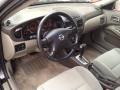 2002 Nissan Sentra Stone Interior Prime Interior Photo