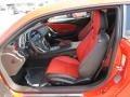 Inferno Orange 2013 Chevrolet Camaro Interiors