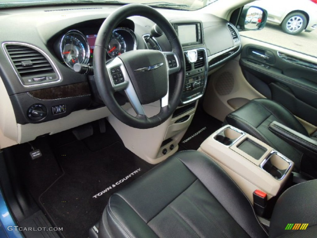 2012 chrysler town country touring l interior color photos. Black Bedroom Furniture Sets. Home Design Ideas