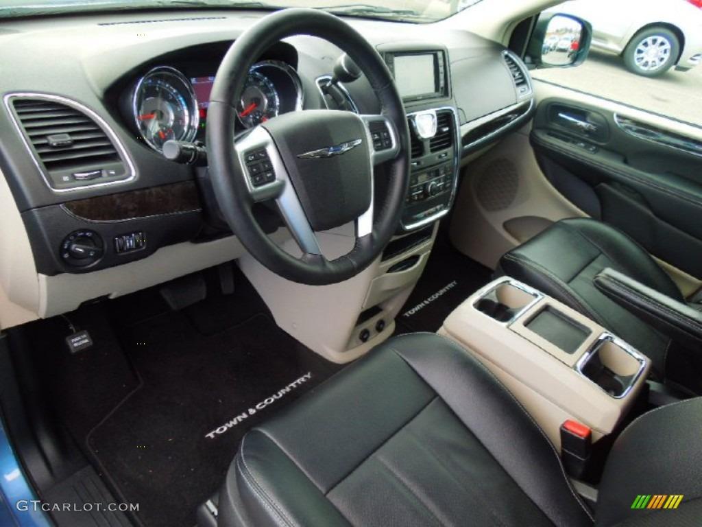 2012 Chrysler Town Country Touring L Interior Color Photos