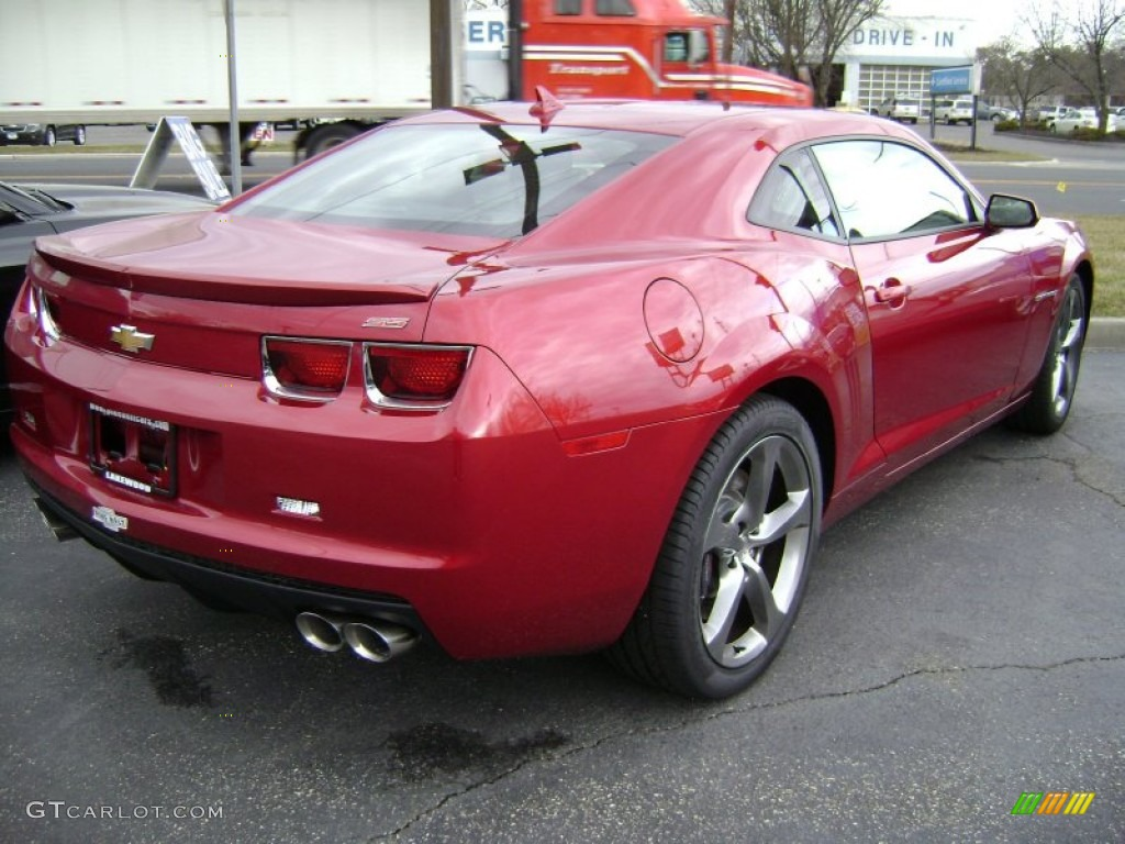 2013 Crystal Red Tintcoat Chevrolet Camaro Ss Rs Coupe