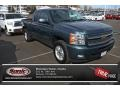 2012 Blue Granite Metallic Chevrolet Silverado 1500 LTZ Extended Cab 4x4  photo #1