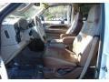 2005 Ford F250 Super Duty Castano Brown Leather Interior Interior Photo