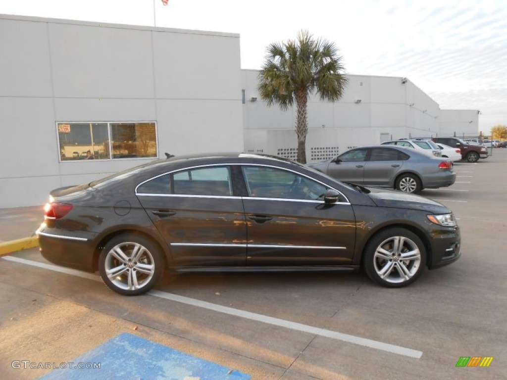 Light Brown Car >> 2013 Black Oak Brown Metallic Volkswagen CC R-Line #77819998 Photo #8 | GTCarLot.com - Car Color ...