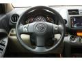 Sand Beige Steering Wheel Photo for 2011 Toyota RAV4 #77840424