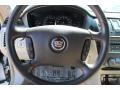 2009 Cadillac DTS Titanium/Dark Titanium Interior Steering Wheel Photo