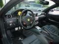 2009 Ferrari 599 GTB Fiorano Black Interior Prime Interior Photo