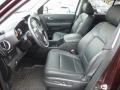 2009 Honda Pilot Black Interior Front Seat Photo