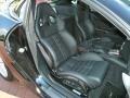 2009 Ferrari 599 GTB Fiorano Black Interior Front Seat Photo