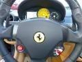 2008 Ferrari 599 GTB Fiorano Beige Interior Steering Wheel Photo
