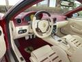 2009 Ferrari 599 GTB Fiorano Cream Interior Prime Interior Photo