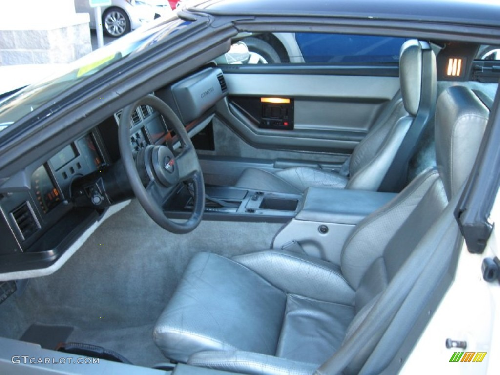 1984 chevrolet corvette coupe interior photos