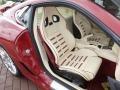 2009 Ferrari 599 GTB Fiorano Cream Interior Front Seat Photo