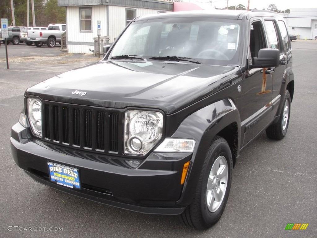 Brilliant black crystal pearl jeep liberty jeep liberty sport 4x4