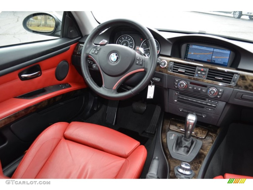 Coral red black interior 2008 bmw 3 series 335xi coupe photo 77857134 gtcarlot com