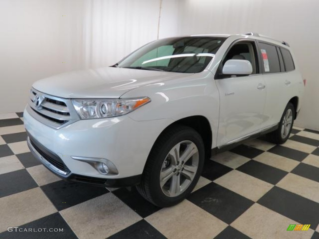 Blizzard white pearl 2013 toyota highlander limited exterior photo 77859342 Toyota highlander 2014 exterior