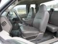 2009 Ford F250 Super Duty Medium Stone Interior Front Seat Photo