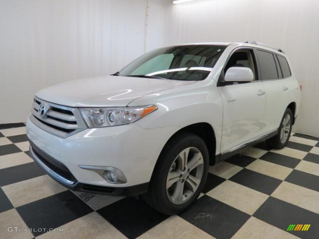 Blizzard white pearl 2013 toyota highlander limited exterior photo 77861603 Toyota highlander 2014 exterior