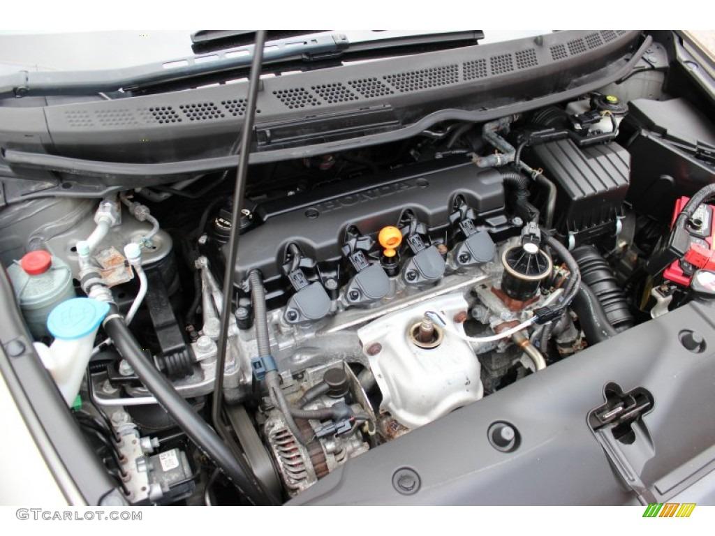 2008 honda civic lx coupe 1 8 liter sohc 16 valve 4 cylinder engine photo 77861712. Black Bedroom Furniture Sets. Home Design Ideas