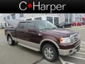 Mahogany Metallic 2008 Ford F150 King Ranch SuperCrew 4x4