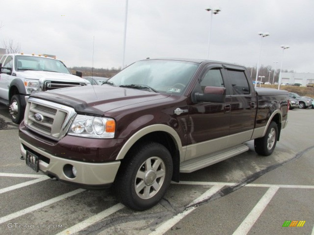 2008 ford f150 king ranch supercrew 4x4 exterior photos. Black Bedroom Furniture Sets. Home Design Ideas