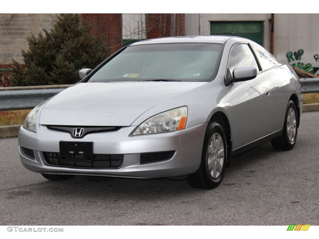 satin silver metallic 2003 honda accord lx coupe exterior. Black Bedroom Furniture Sets. Home Design Ideas