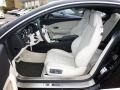 Front Seat of 2012 Continental GT