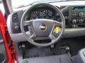 2012 Victory Red Chevrolet Silverado 1500 LS Crew Cab 4x4  photo #13