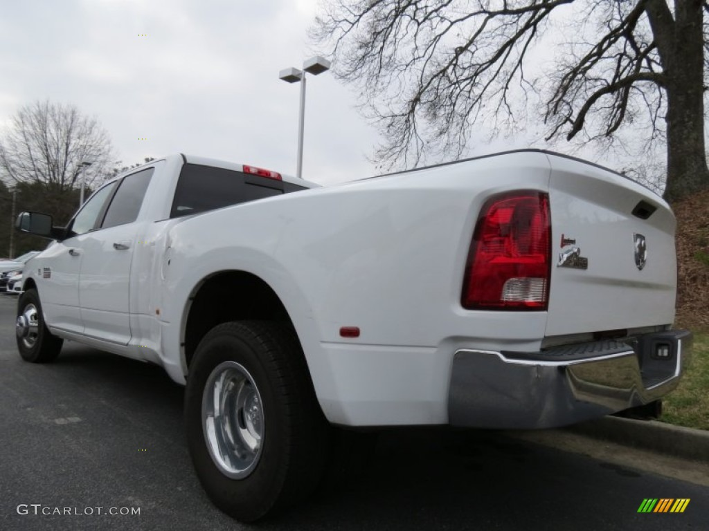 Bright White 2010 Dodge Ram 3500 Big Horn Edition Crew Cab Dually Exterior Photo #77864847