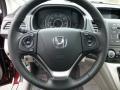 2013 Basque Red Pearl II Honda CR-V EX-L AWD  photo #17