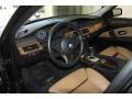Natural Brown 2008 BMW 5 Series Interiors