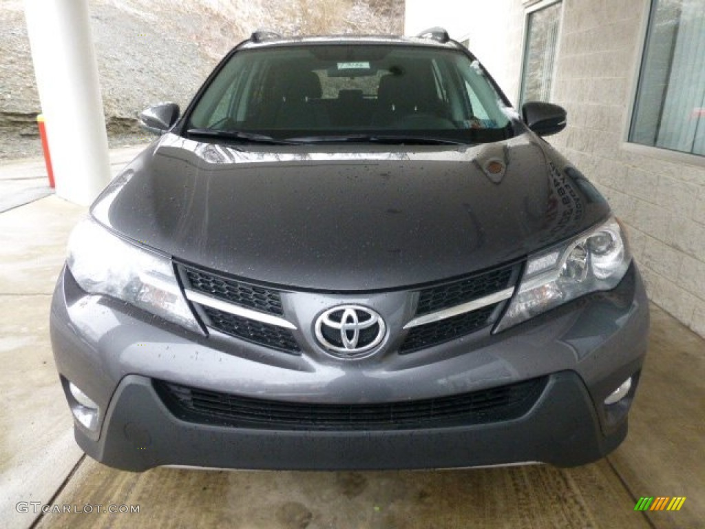 2013 magnetic gray metallic toyota rav4 xle awd 77819303. Black Bedroom Furniture Sets. Home Design Ideas