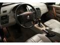 2004 BMW X3 Grey Interior Prime Interior Photo