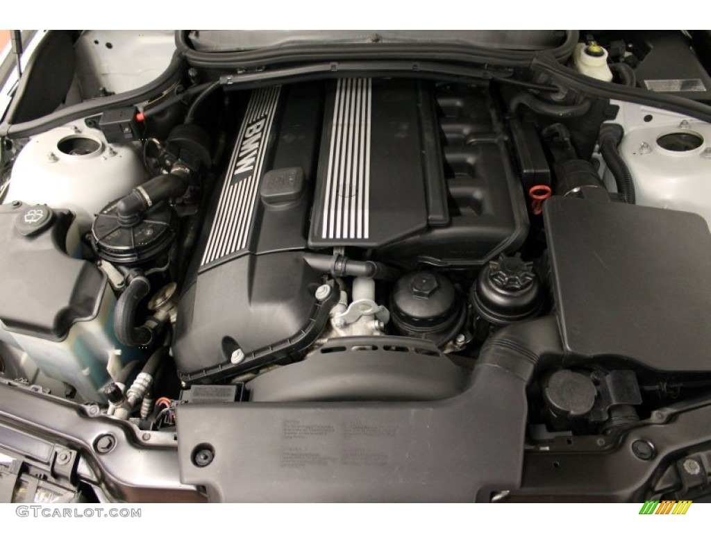 2003 bmw 3 series 325i sedan engine photos