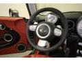 Lounge Redwood Red Leather Steering Wheel Photo for 2009 Mini Cooper #77879931
