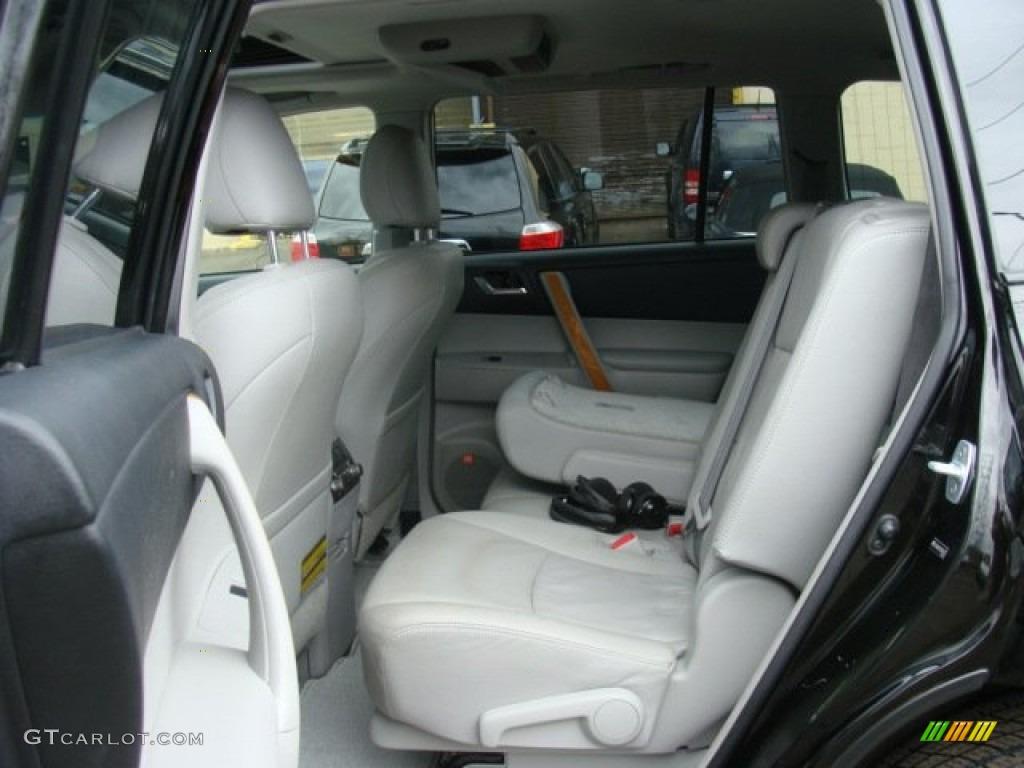 2009 Toyota Highlander Hybrid Limited 4wd Interior Color Photos