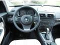 2009 BMW X3 Oyster Nevada Leather Interior Dashboard Photo