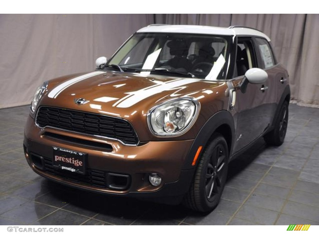 Brilliant Copper Metallic Mini Cooper