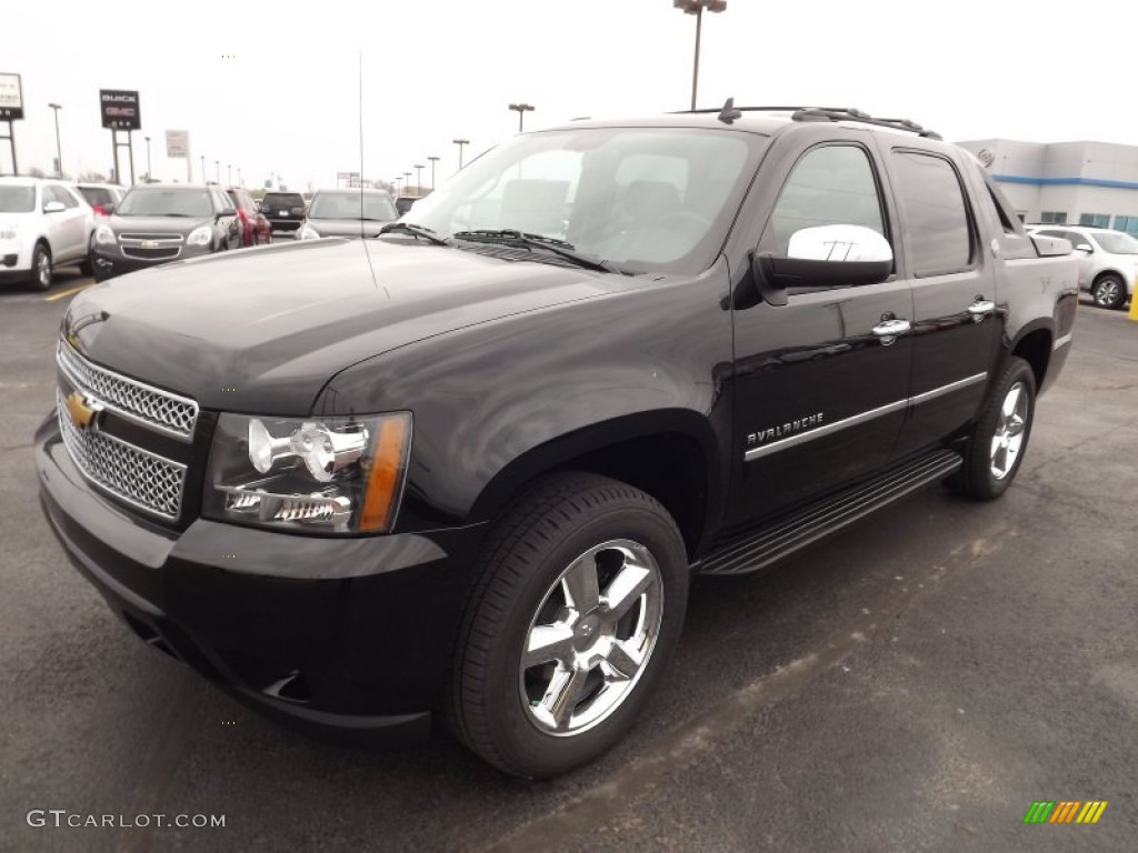 black 2013 chevrolet avalanche ltz 4x4 black diamond edition exterior photo 77886846. Black Bedroom Furniture Sets. Home Design Ideas