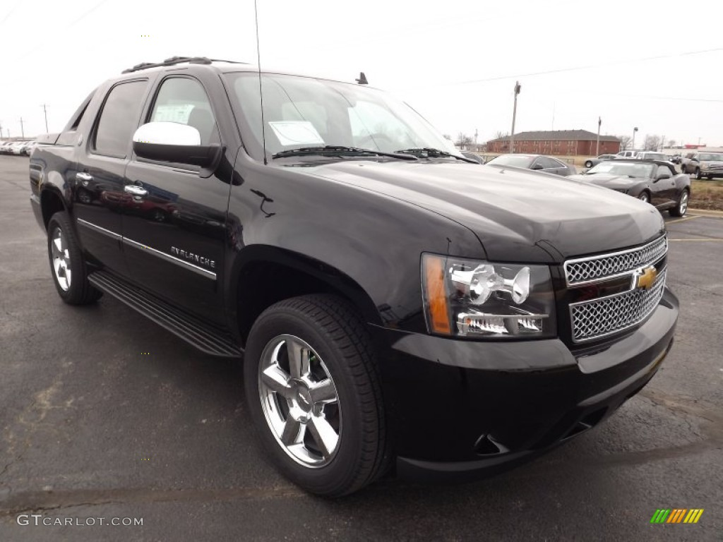 black 2013 chevrolet avalanche ltz 4x4 black diamond edition exterior photo 77886879. Black Bedroom Furniture Sets. Home Design Ideas