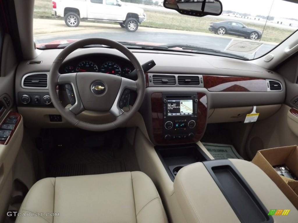 2013 Chevrolet Silverado 1500 LTZ Crew Cab 4x4 Dashboard Photos