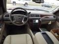 Light Cashmere/Dark Cashmere Dashboard Photo for 2013 Chevrolet Silverado 1500 #77887400
