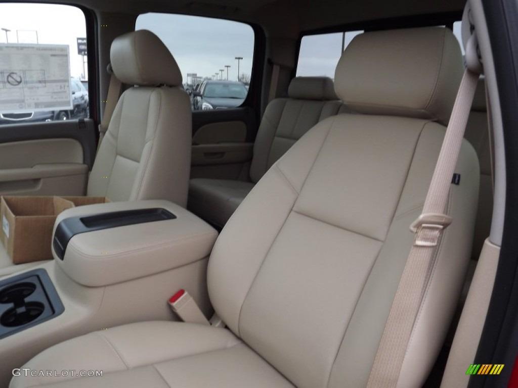 2013 Chevrolet Silverado 1500 LTZ Crew Cab 4x4 Front Seat Photo #77887437